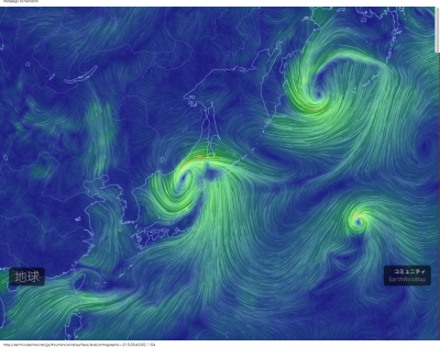 earth    an animated map of global wind, weather, and ocean conditions_2